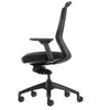Aveya Black Mesh Back Ergonomic Office Chair  AFRDI Level 6 Certified with Arms Side View