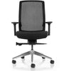 Aveya Black Mesh Back Ergonomic Office Chair  AFRDI Level 6 Certified with Arms and Polished Aluminium Base