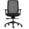 Aveya Black Mesh Back Ergonomic Office Chair  AFRDI Level 6 Certified with Arms front view