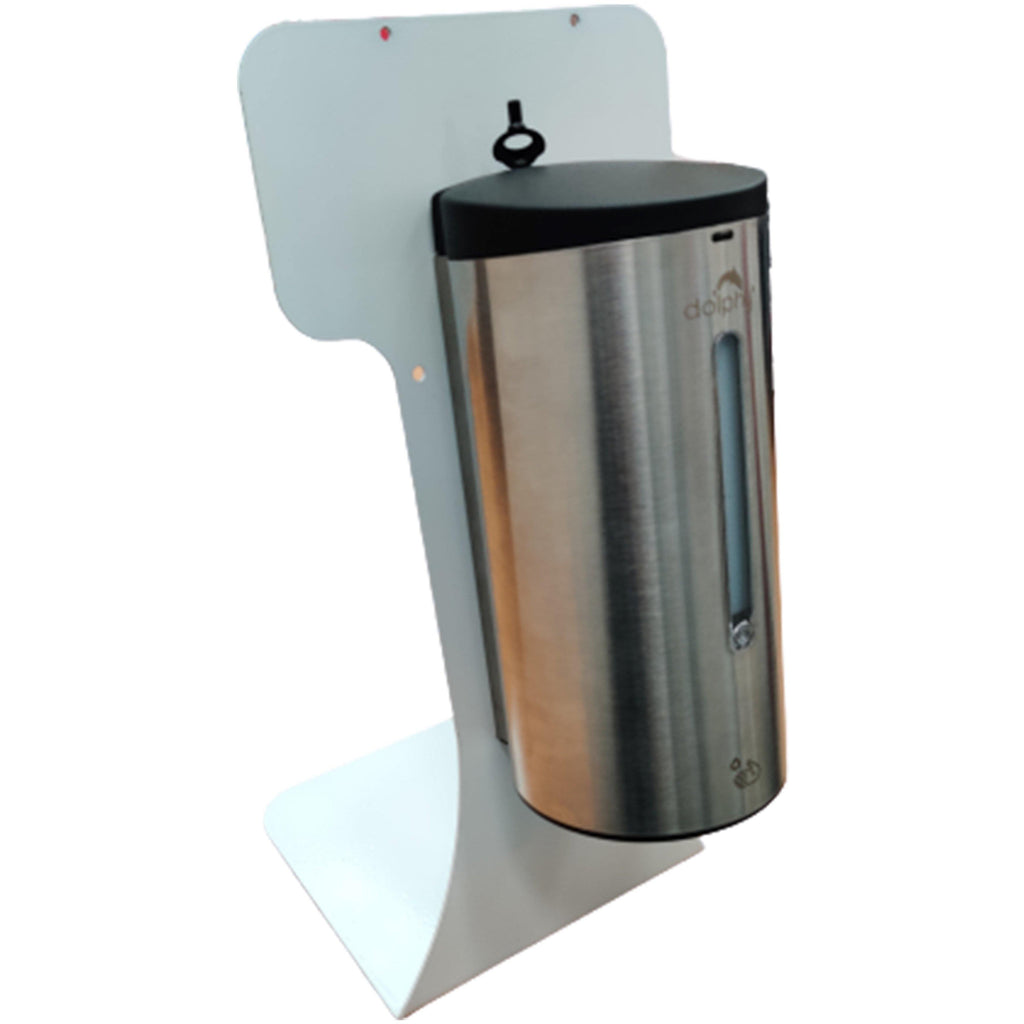 Stainless Steel Automatic Hand Sanitiser Dispenser with Desk Stand
