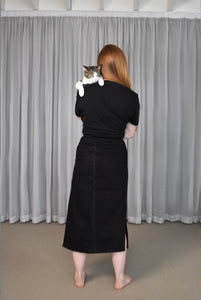 Lois Hazel - Black Wrap Skirt