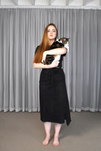 Load image into Gallery viewer, Lois Hazel - Black Wrap Skirt