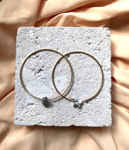 Load image into Gallery viewer, Aeon - Gold & Silver Blossom Hoops