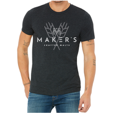 Load image into Gallery viewer, Classic Long Sleeve Maker's T-Shirt Logo & Sheaf