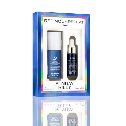 Sunday Riley Mini Retinol + Repeat Travel Kit