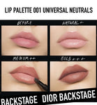 Dior Backstage Lip Palette