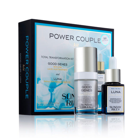 Sunday Riley Power Couple Total Transformation Kit
