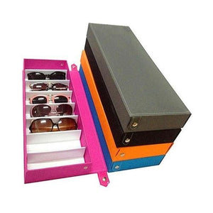 8 Grid Glasses Storage Case - Accessories