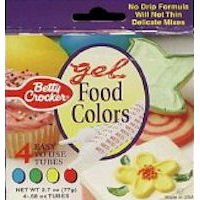 Betty Crocker Classic Gel Food Colors - 4 CT – Toyboxtech