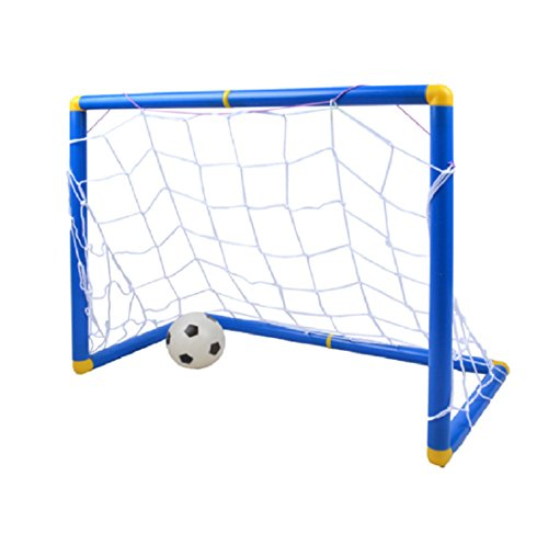 Silfrae Mini Football Goal Kids Sports Toy