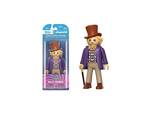 Charlie and the Chocolate Factory Funko Playmobil Willy Wonka Action Figure