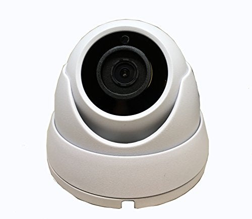 101AV Security Dome Camera 1080P 1920x1080 True Full-HD 4in1(HD-TVI, AHD, CVI, CVBS) 2.8mm Fixed Lens 2.4 Megapixel STARVIS IR Indoor Outdoor Camera WDR DayNight HomeOffice 12VDC (White)