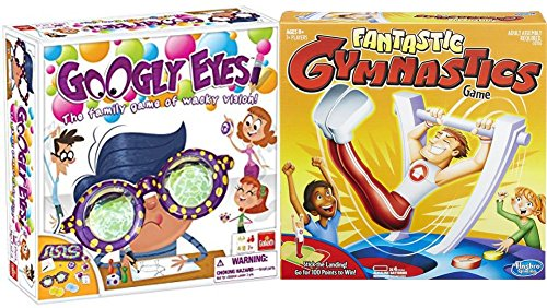 Fantastic Gymnastics and Googly Eyes Board Games for Kids and Families