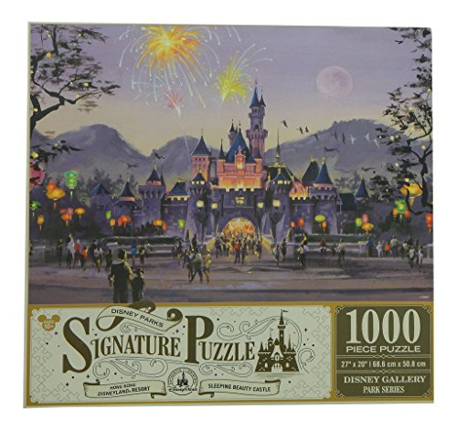 Disney Parks Signature Puzzle Sleeping Beauty Castle - Hong Kong Disneyland