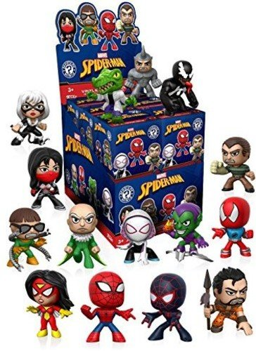 Funko Mystery Mini Spiderman Classic One Mystery Figure Action Figure
