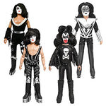 Kiss 8 Inch Action Figures: Special Edition Set of 4 Loose Figures