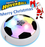 Kids Sports Toys Hover Ball with Powerful LED Light Kid Girls Boys Children Toys Air Power Soccer Football Training Ball for Indoor or Outdoor with Parents Disk Game