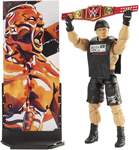 WWE Elite Collection Series # 55 Brock Lesnar Action Figure
