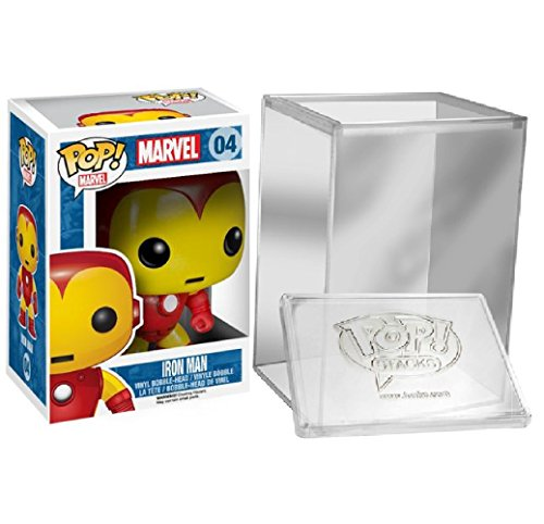 Funko Pop: Marvel: Iron Man - Collectible Action Figure+ FUNKO PROTECTIVE CASE