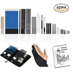 42Pcs Drawing and Sketching Pencils Set,VST, Professional Art Kit Including Drawing Pencils, Graphite Pencils, Sketching Supplies for Art Student