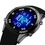 Boys LED Sport Watch, Digital Electronic Military Kids Sports Watch with Luminous Alarm Stopwatch Watches