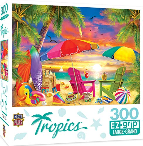 Masterpieces Tropics - Seaside Afternoon 300Piece Ezgrip Jigsaw Puzzle
