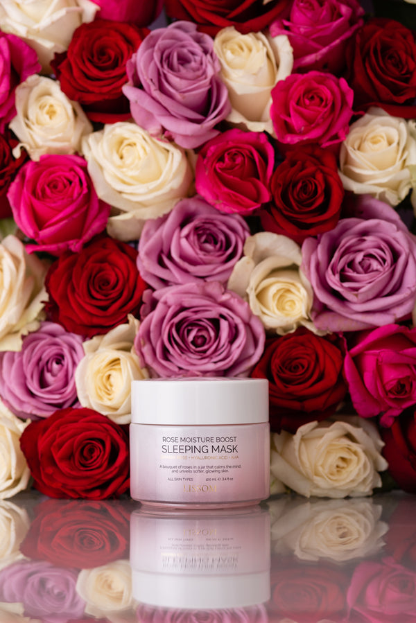 Rose Moisture Boost Sleeping Mask