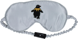 Pedro's Bluff Mulberry Sleep Mask - Pedro (Grey)