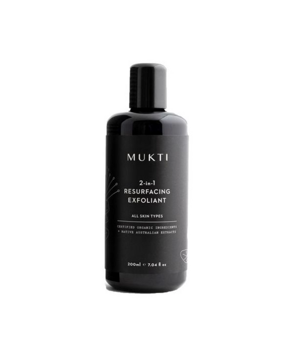 MUKTI 2-In-1 Resurfacing Exfoliant
