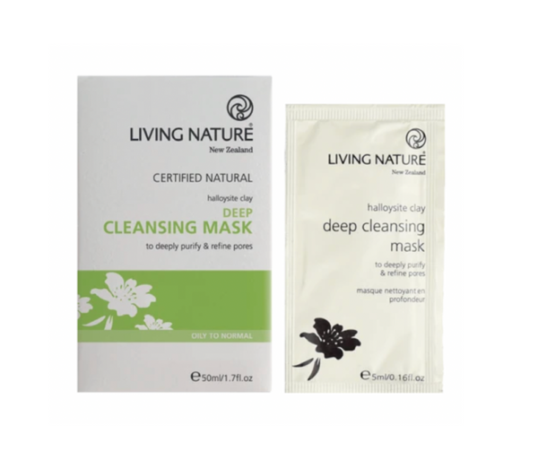 Living Nature Halloysite Clay Deep Cleansing Mask