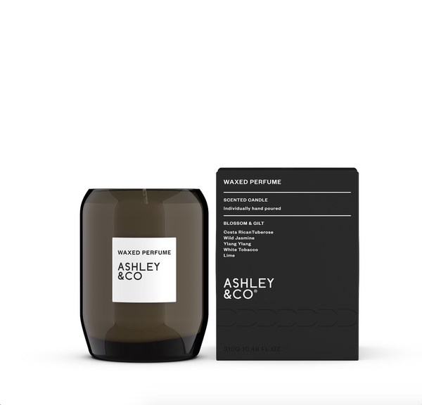 Ashley & Co Waxed Perfume Candle - Blossom & Gilt