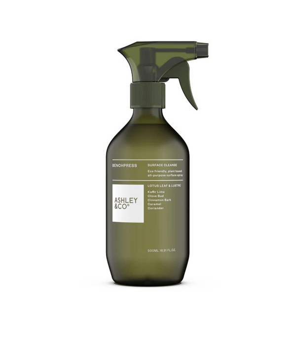 Ashley & Co ZAP Surface Sanitiser - Lotus Leaf