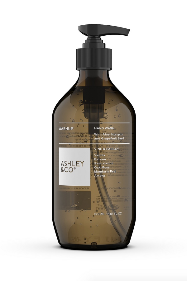 Ashley & Co Washup - Vine & Paisley 500ml