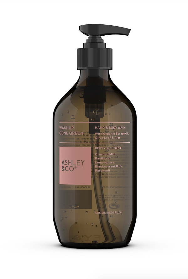 Ashley & Co Washup Gone Green - Peppy & Lucent 500ml