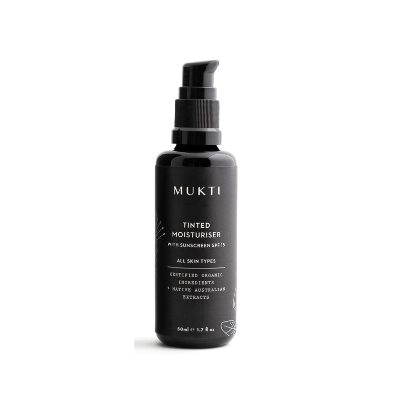 MUKTI Tinted Moisturiser with SPF15 Sunscreen