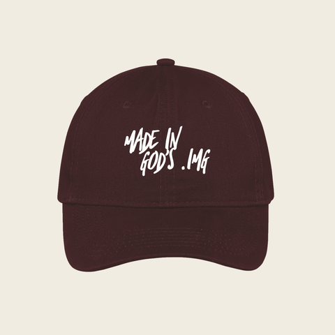 Dad Hat (Maroon)