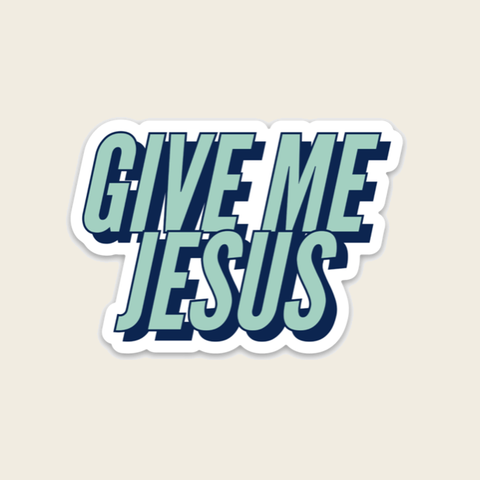 Give Me Jesus - Blue