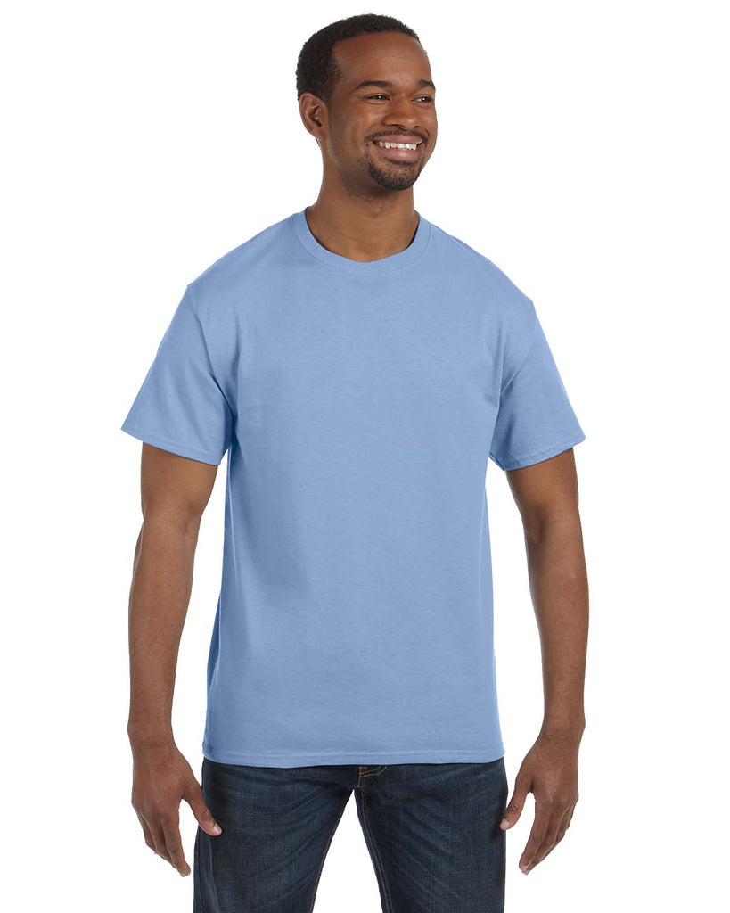 Hanes-5250T-Men's 6.1 oz. Tagless® T-Shirt - WHITE - S