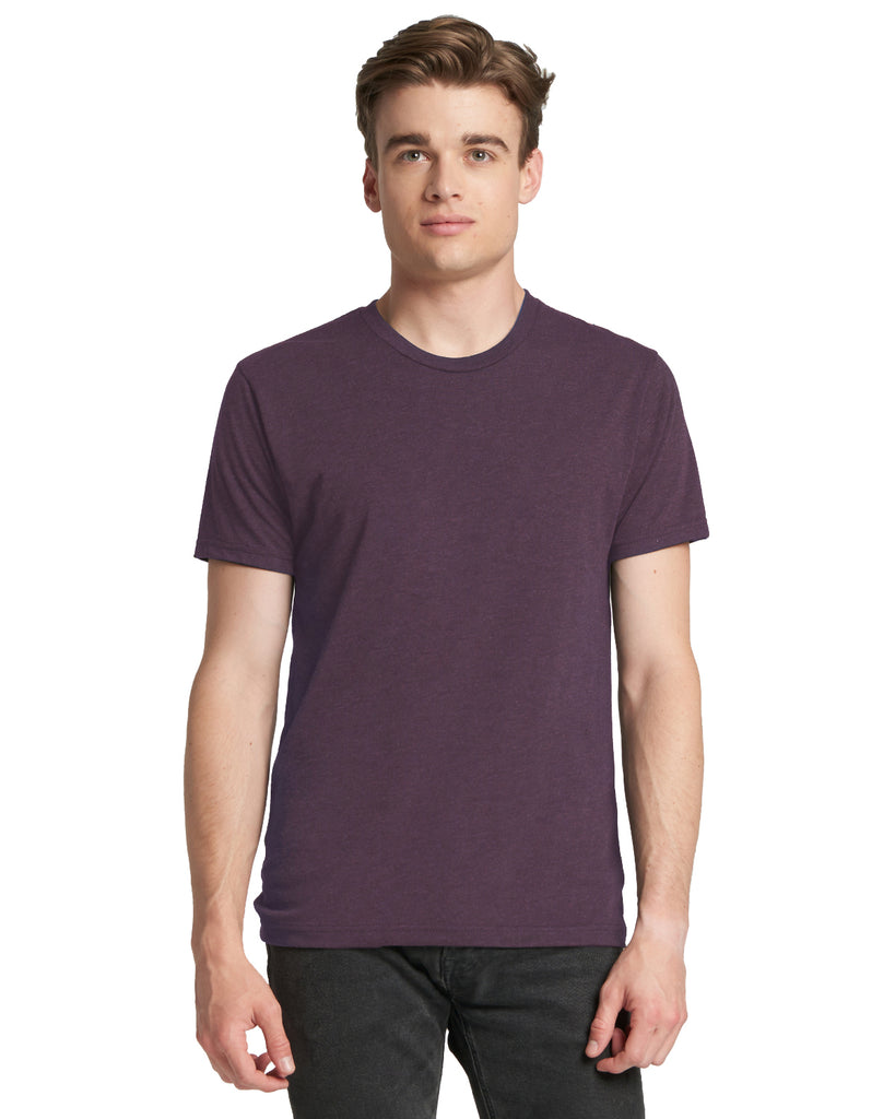 Next Level-6010-Men's Triblend Crew - INDIGO - XS