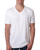 Next Level-6240-Men's CVC V - WHITE - S