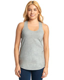 Next Level-6933-Ladies' French Terry Racerback Tank - WHITE - XS
