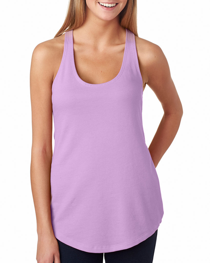 Next Level-6933-Ladies' French Terry Racerback Tank - CARDINAL - XS