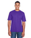 Ash City - Core 365-88182-Men's Pace Performance Piqué Crewneck - CAMPUS PURPLE - S