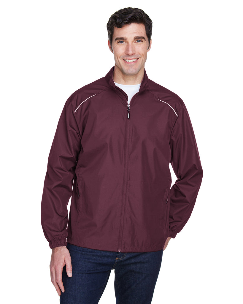 Ash City - Core 365-88183-Men's Motivate Unlined Lightweight Jacket - CAMPUS PURPLE - S