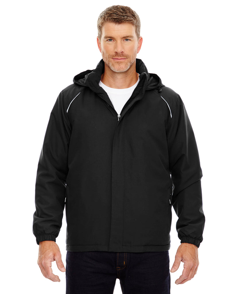 Ash City - Core 365-88189T-Men's Tall Brisk Insulated Jacket - BLACK - 2XT