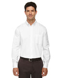 Ash City - Core 365-88193T-Men's Tall Operate Long-Sleeve Twill Shirt - WHITE - 2XT