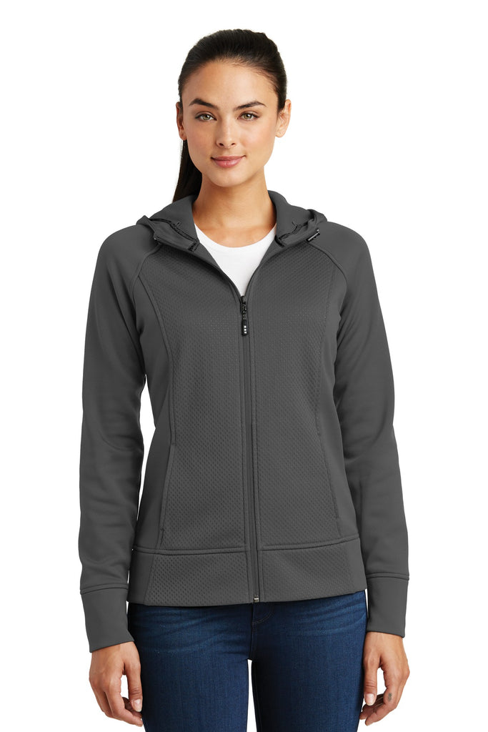 Sport-Tek Ladies Rival Tech Fleece Full-Zip Hooded Jacket. LST295