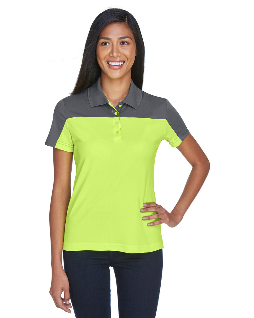 Ash City - Core 365-CE101W-Ladies' Balance Colorblock Performance Piqué Polo
