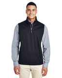 Ash City - Core 365-CE709-Men's Techno Lite Three-Layer Knit Tech-Shell Quarter-Zip Vest
