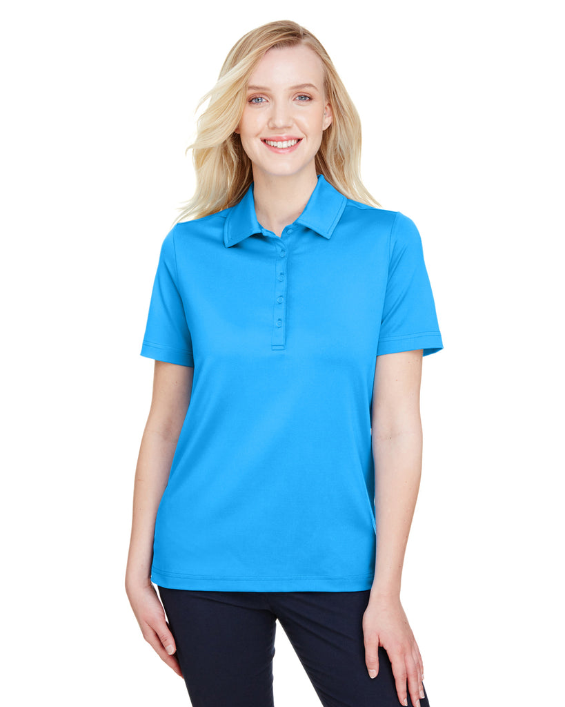 Devon & Jones-DG21W-CrownLux Performance™ Ladies' Range Flex Polo - GRAPHITE - XS